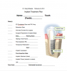 Figure 8. Example of a checklist that can be used from start to finish to ensure that all members of the treatment team—including the patient—are aware of and understand the components of the implant treatment that must be planned.