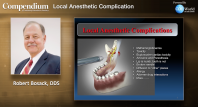 Local Anesthetic Complications Webinar Thumbnail