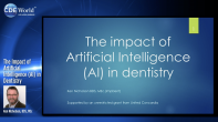 The Impact of Artificial Intelligence (AI) in Dentistry Webinar Thumbnail
