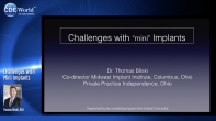 Challenges with Mini Implants Webinar Thumbnail